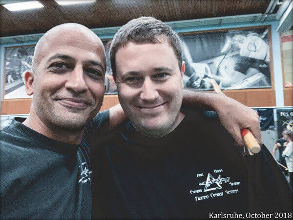 Patrick Jeannotat und Metin Aydinoglu